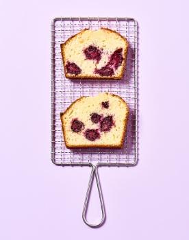 Cake Yaourt Brebis Mûres