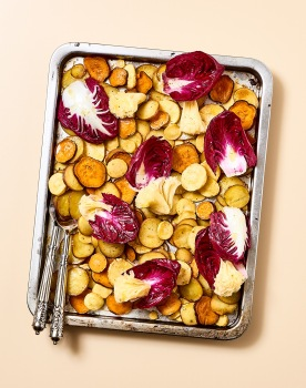 Légumes Rôtis Sirop Erable