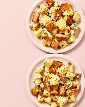 Salade Pdt Saumon