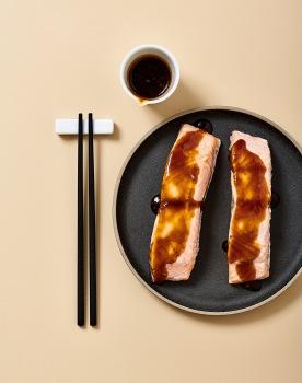 Saumon Sauce Teriaki