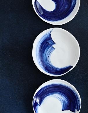 Oxyde de Cobalt sur Porcelaine