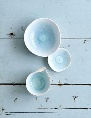 Grès et Porcelaine Bleue