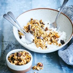Granolas et Mueslis . Granola Beurre Cacahuète Chocolat