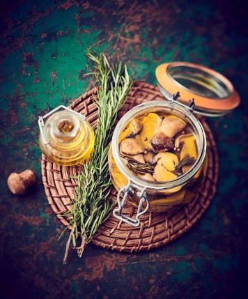Cèpes aux Aromates