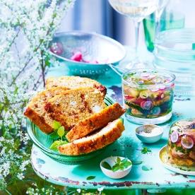 Cuisine et Vins 188 . Terrines quinoa . Aspic Radis Foies