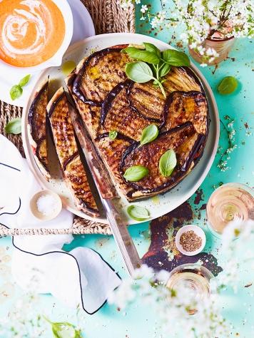 Cuisine et Vins 188 . Terrine Aubergine Bolognaise