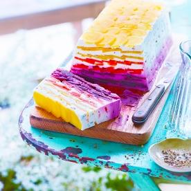 Cuisine et Vins 188 . Terrine Carottes Multicolores Chevre