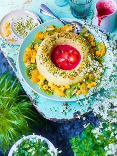 Cuisine et Vins 188 . Terrine Creme Amande Fruits