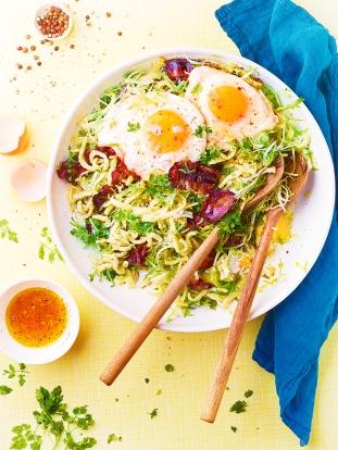 Cuisine et Vins 187 . Salade Spaetzle